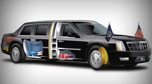Siêu xe của tổng thống Obama