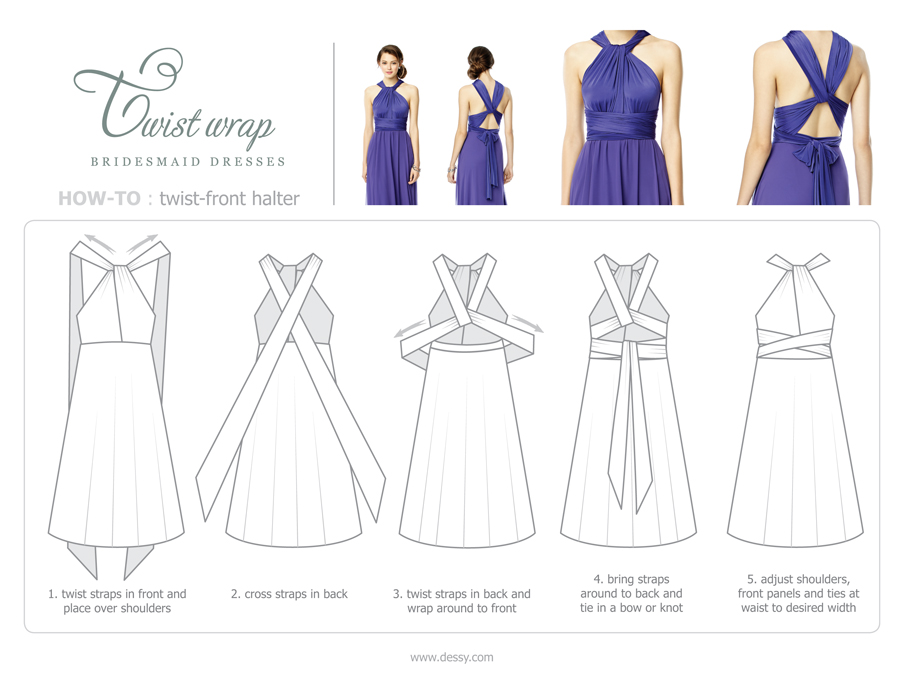 Perfect Mismatched Bridesmaid Dresses   Southern California Wedding ...