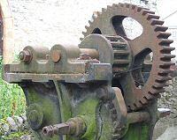 Old cogwheels