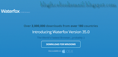 Download browser waterfox terbaik tercepat