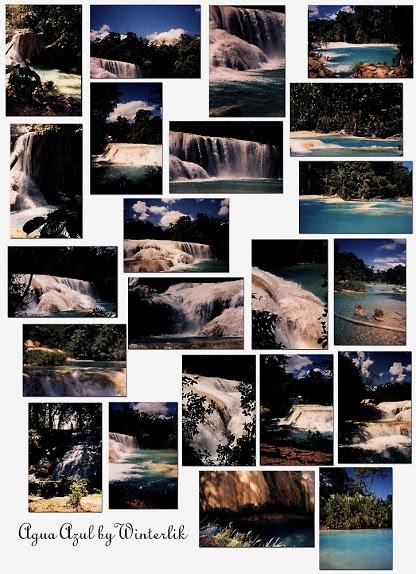 Agua Azul Waterfalls - Chiapas Mexico