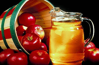 Drink Apple cider vinegar to healthy skin