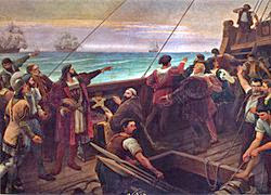 "In 1500 on this day the Portuguese navigator Pedro Àlvares Cabral made landfall in Porto Seguro, a natural harbour and ""Safe Port"" on the north-east coast of present-day Brazil."