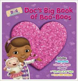 Doc McStuffins Doc's Big Book of Boo-Boos