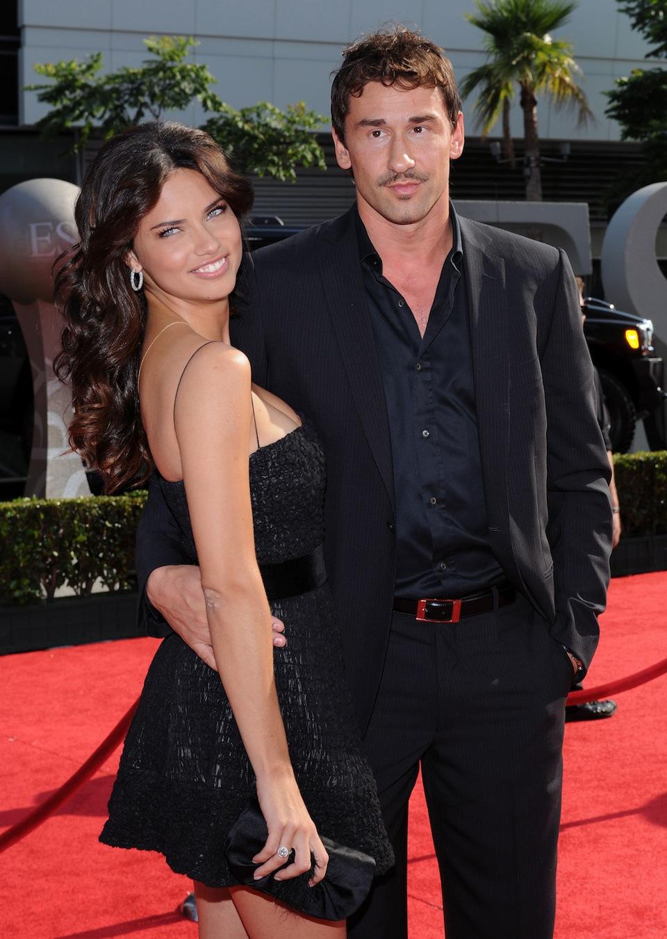Adriana Lima With His Husband Latest Photos 2013   World