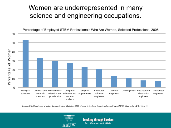 women mathematicians why so few essay Essay on women in science: why so few cara santa maria has chosen to pursue career in stem (science, technology, engineering and mathematics) field.