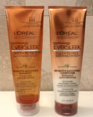 L'Oreal EverSleek Reparative Shampoo and Conditioner