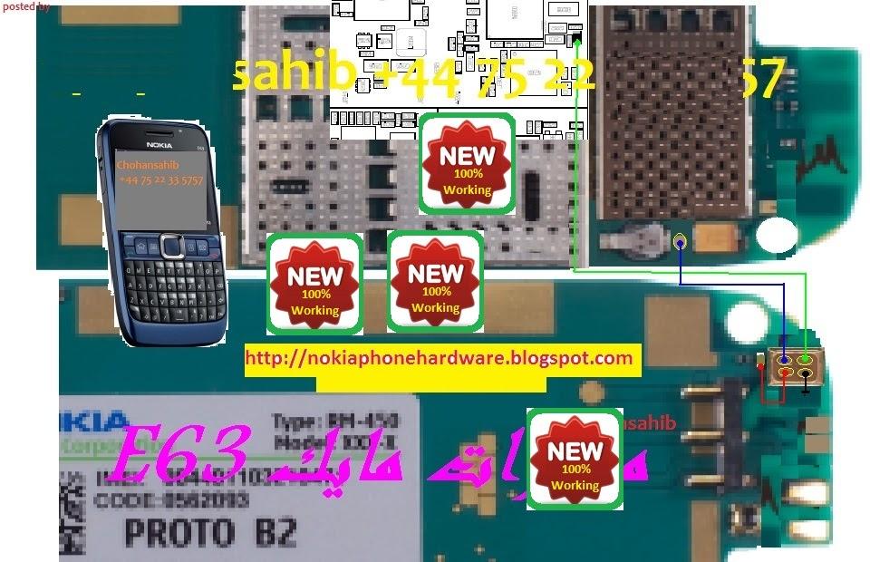 Nokia    Phone Hardware     Nokia       E63    mic problem solution 100