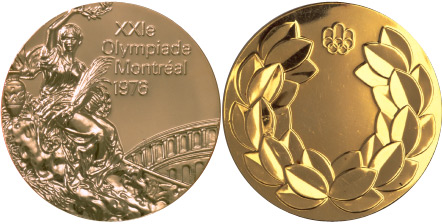 Medal Design Olympic Montreal 1976