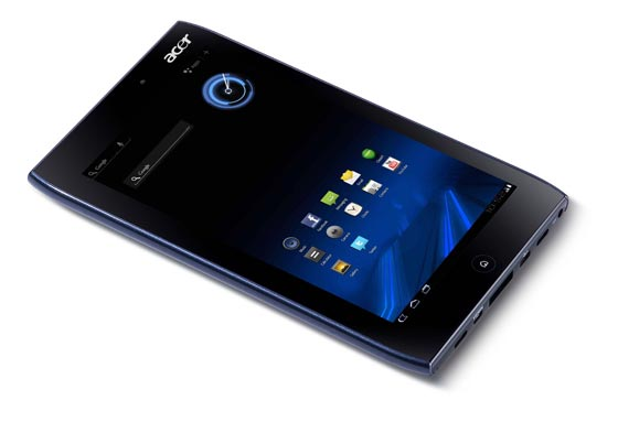 tablet android honeycomb acer A100