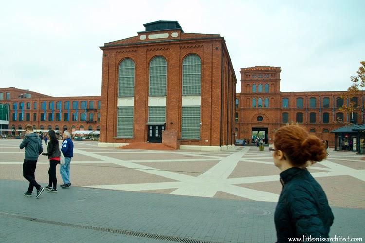 lodz architecture, postindustrial architecture poland
