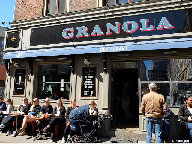 Brunch Restaurant Granola, Copenhague