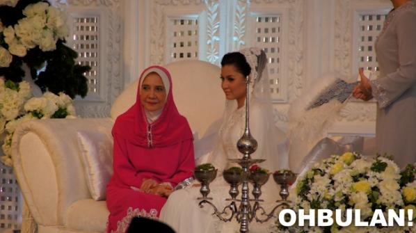 gambar perkahwinan pernikahan lisa surihani yusy kru