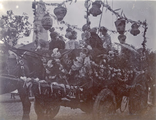Japanese float in Hackney Coronation Carnival 1902