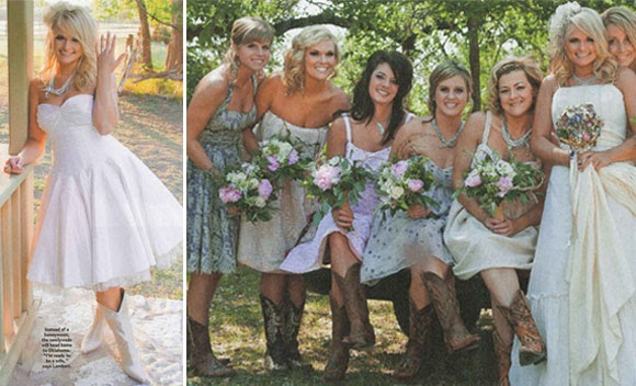 Sep 26 2011 we offer Country Wedding Bridesmaid Dress Cowboy BootsBuy