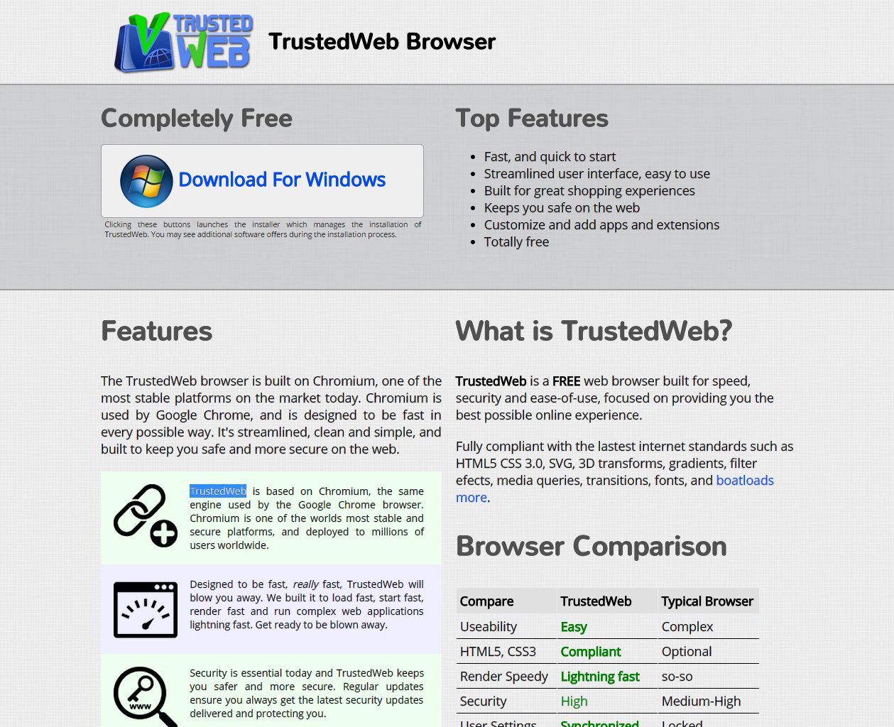 VeriBrowse o TrustedWeb Browser