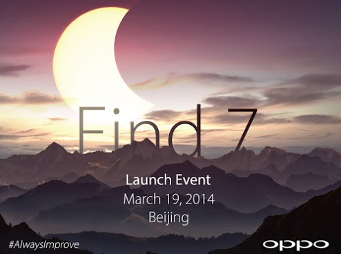 OPPO Find 7 Android Smartphone Promotional Poster