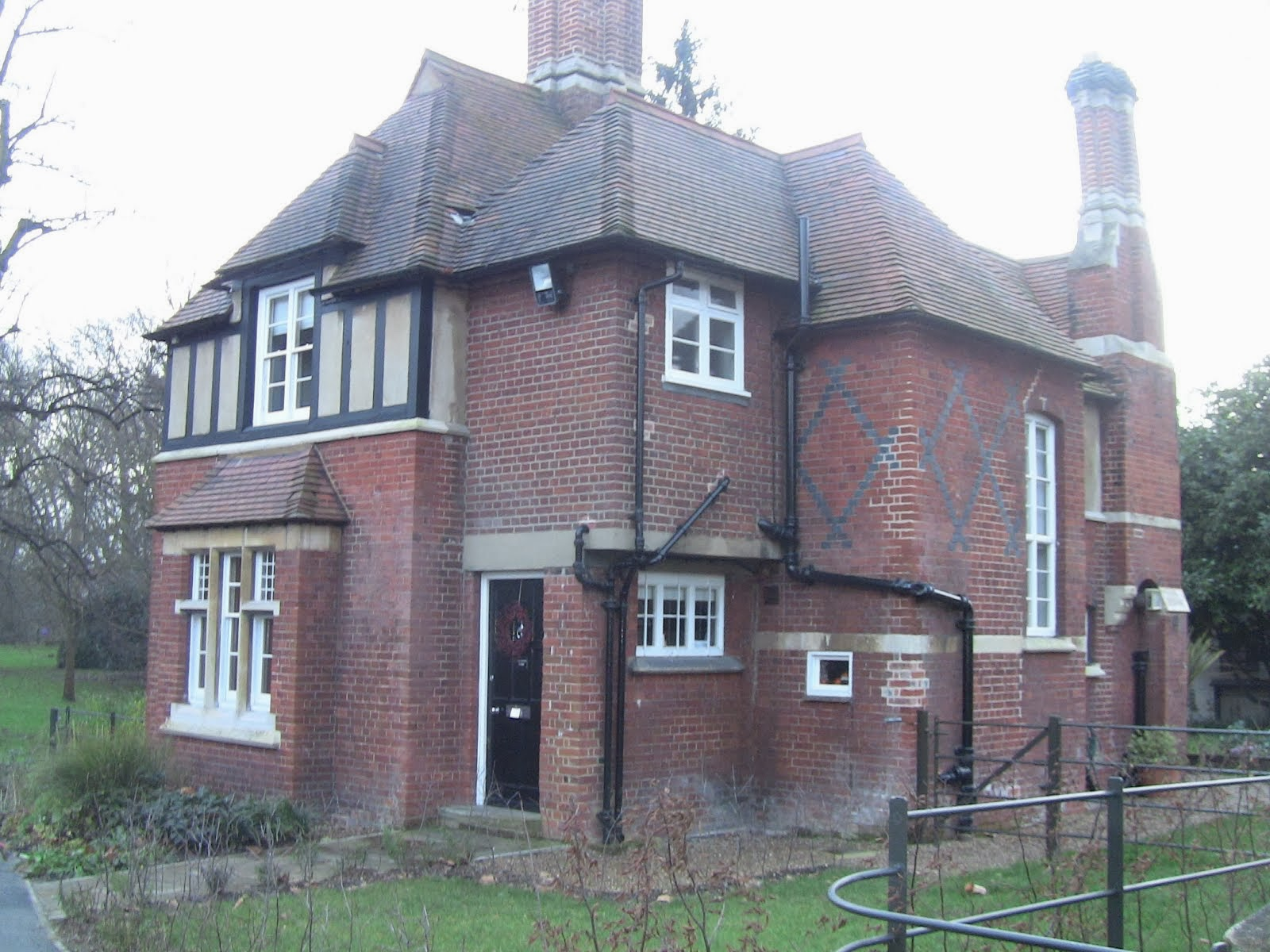 la petite maison du gardien de Fulham Palace!
