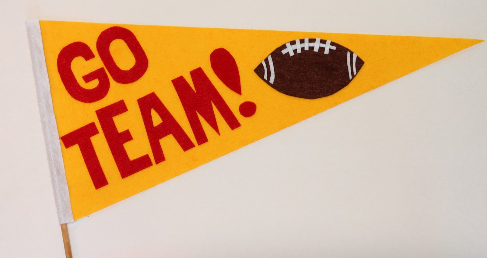 I love me some fabric Super Bowl craft ideas for kids