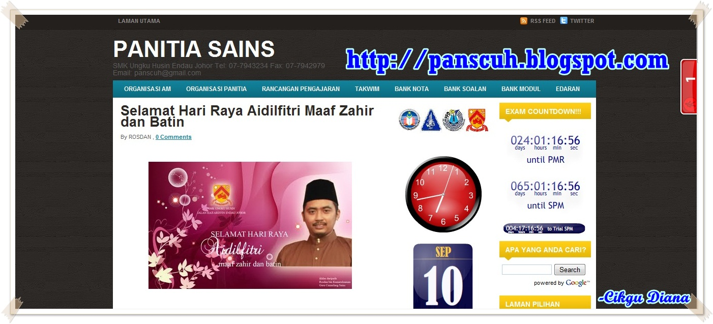 All About Science Website Blog Panitia Sains Smk Ungku Husin Endau