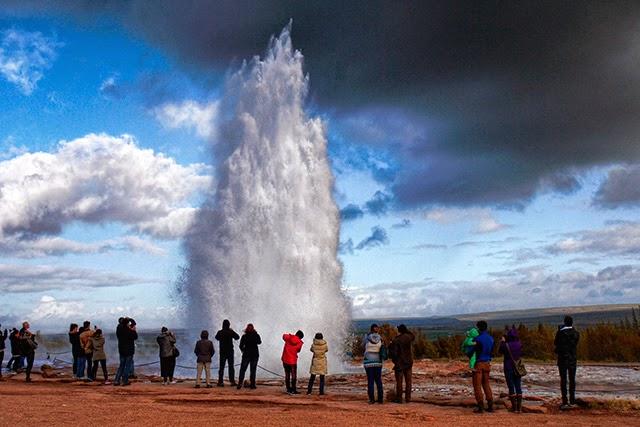 冰島大噴泉