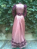 Haine+secol-XIX+haine+vintage+arta+vestimentara+Rochii+Rochii+epocă,