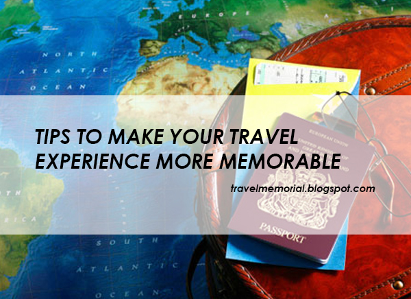travelling experience essay