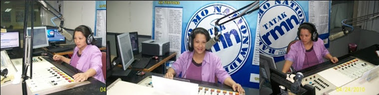 Cathy Cruz in RMN-DZXL 558 kHz AM Band