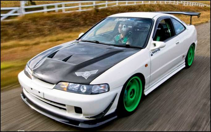 acura integra type r modified
