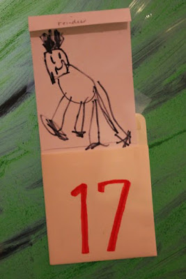 DRAW! Make Your Own Advent Calendar/Countdown to Christmas