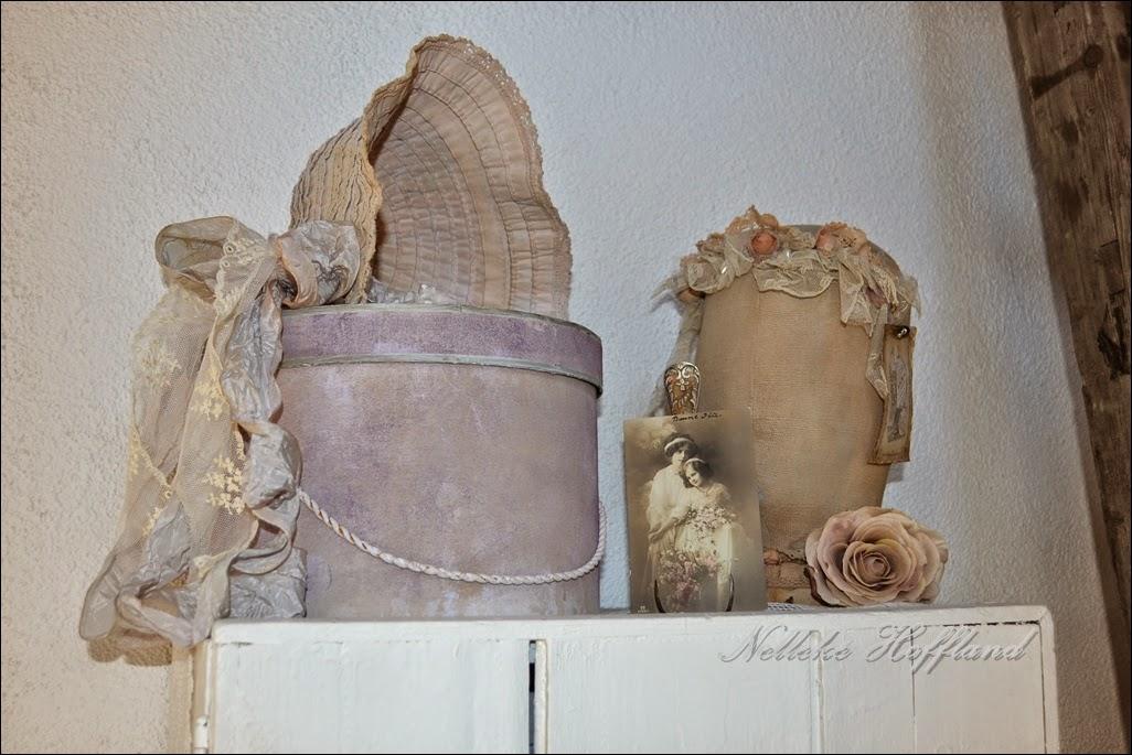 paspoppen en hoofden van linnen