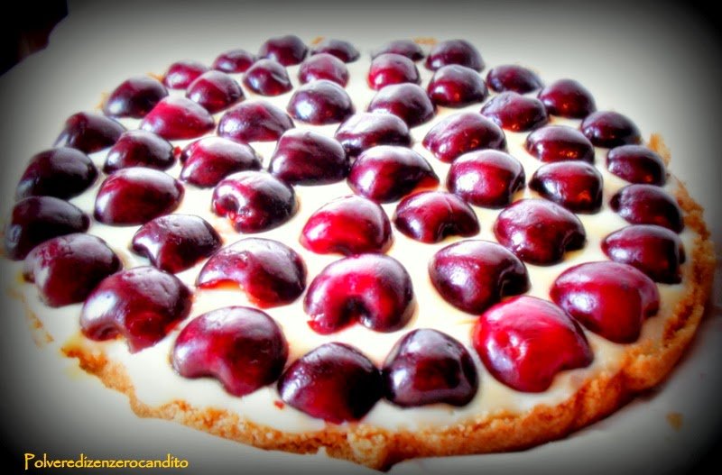 cheescake (finta) alle ciliegie