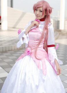 Saya cosplay as Euphemia Li Britannia from Code Geass
