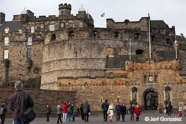paseo, walk, Edinburgh, Scotland, Edinburgh Castle