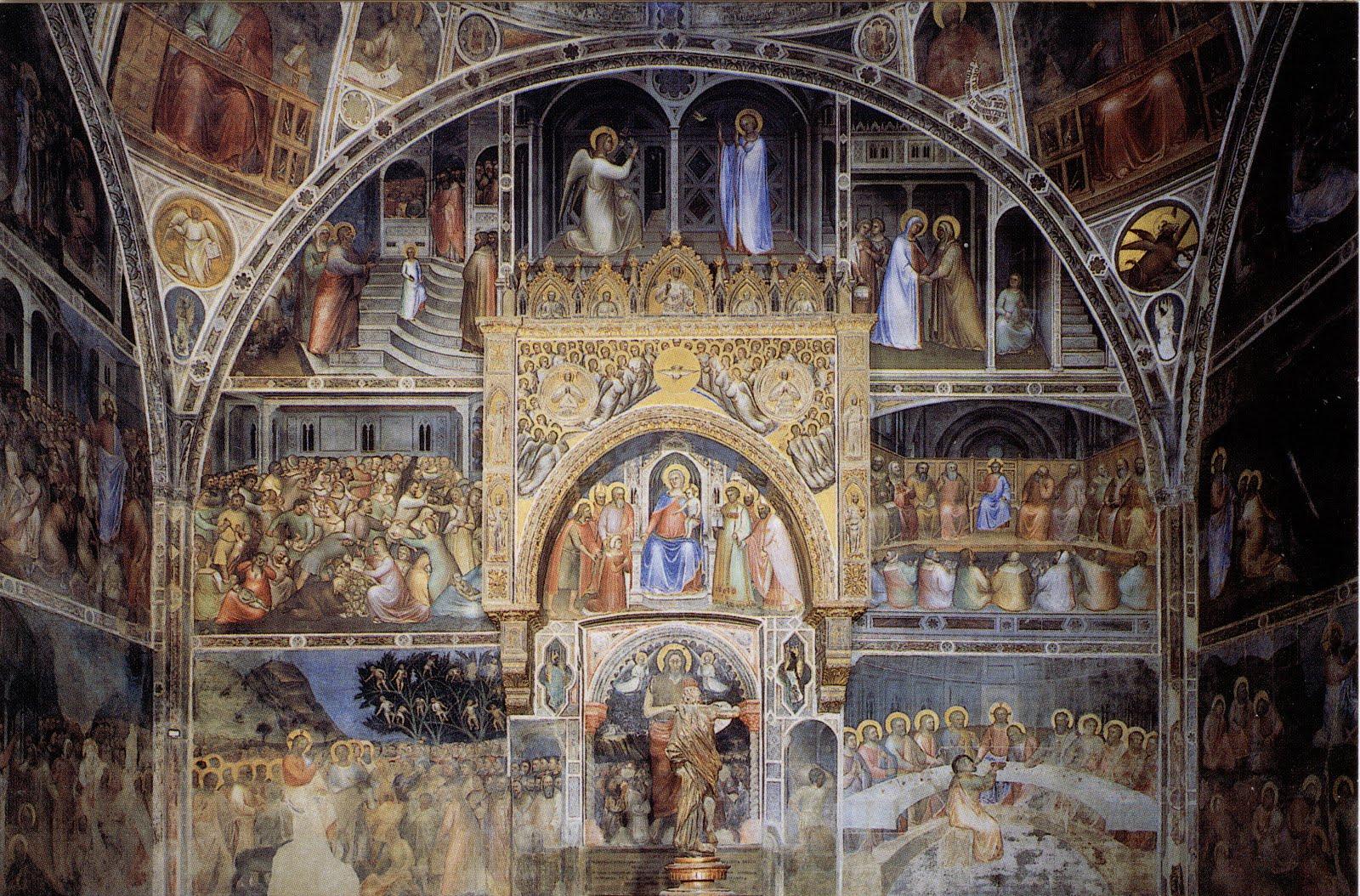 Giusto de' Menabuoi - battistero di Padova