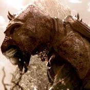 """Imagen de arte conceptual de Battle Cat, el corcel de He-Man en """"Masters del Universo"""""""