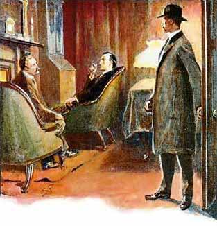 Watson, Holmes and Captain Crocker