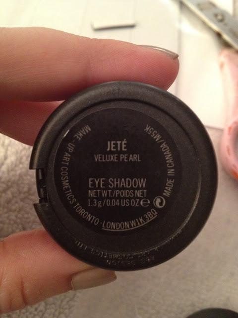Depotting MAC Eyeshadows