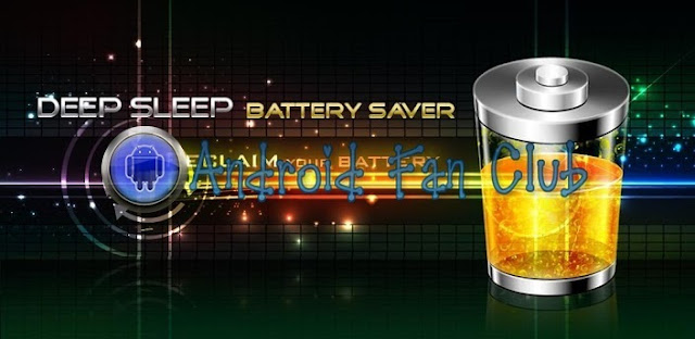 Deep Sleep Battery Saver Android APK Download