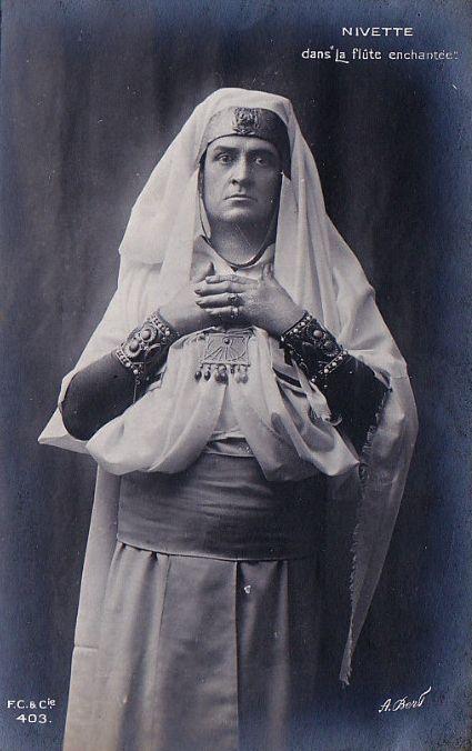 BASS JUSTE NIVETTE (1866 - ?) CD