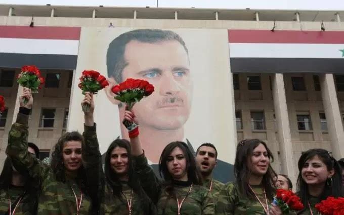 Συρία: Νικητής ο Άσαντ! Οι ισλαμιστές τρομοκράτες κατέχουν πια μόνο το 12% του συριακού εδάφους Άκρα σιγή απο καθεστωτικά ΜΜΕ