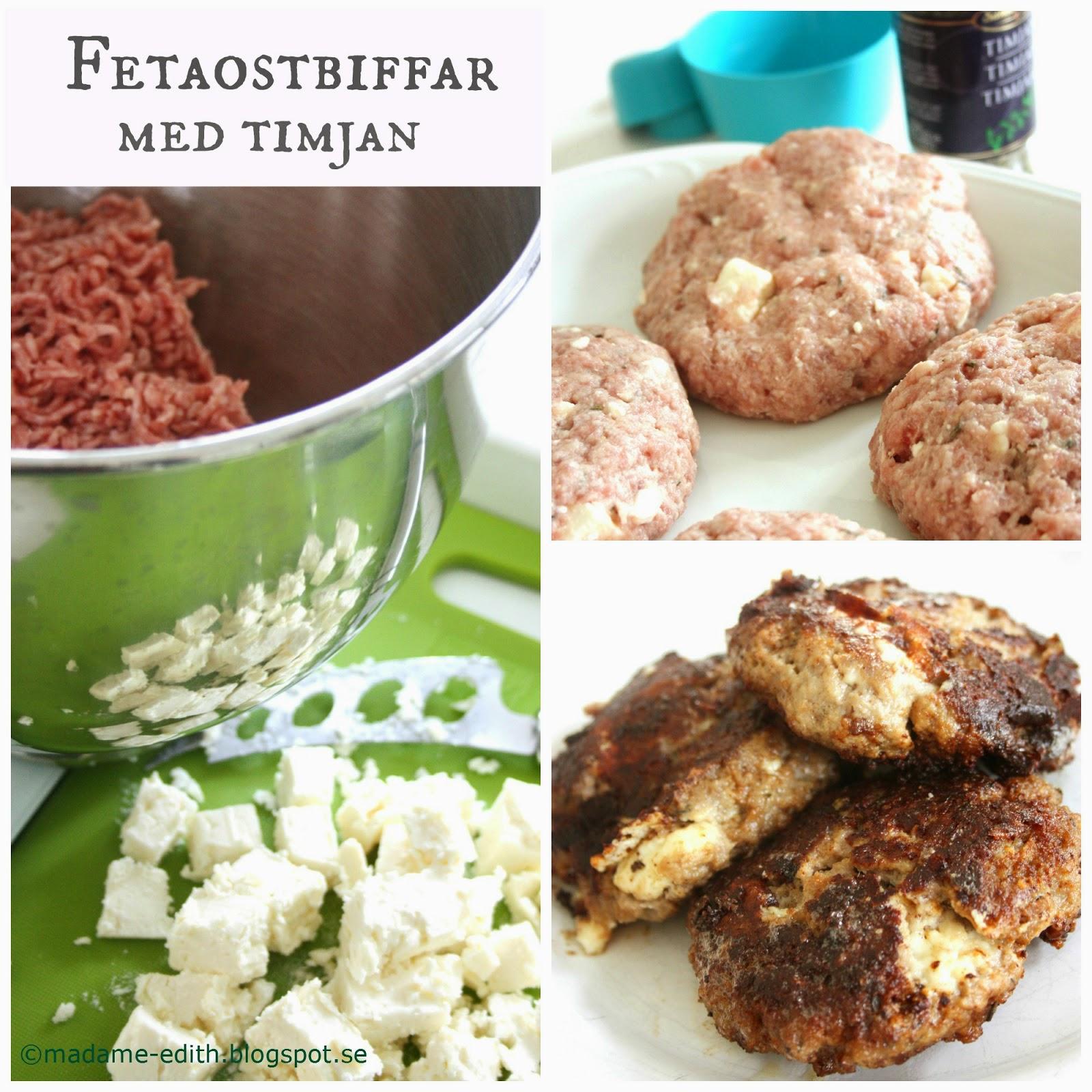 recept på fetaostbiffar