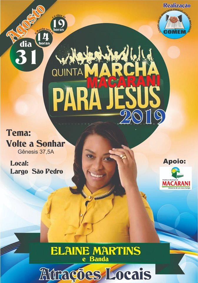 31 de agosto tem a Festa do Dia do Evangélico em Macarani