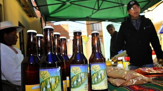 Crean cerveza con hojas de coca - Bolivia