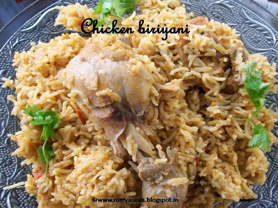 Chicken biriyani(Tamilnadu style)