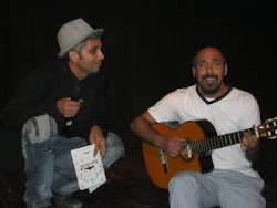 Dos músicos a música