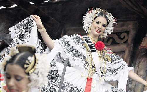 TRAJES NACIONALES (NATIONAL COSTUMES) MISS PANAMA IN MISS UNIVERSE  Miss%2Bpanama