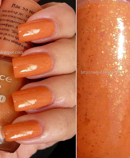 оранжев лак за нокти Essence`s Colour & Go номер 119 Boho Chic
