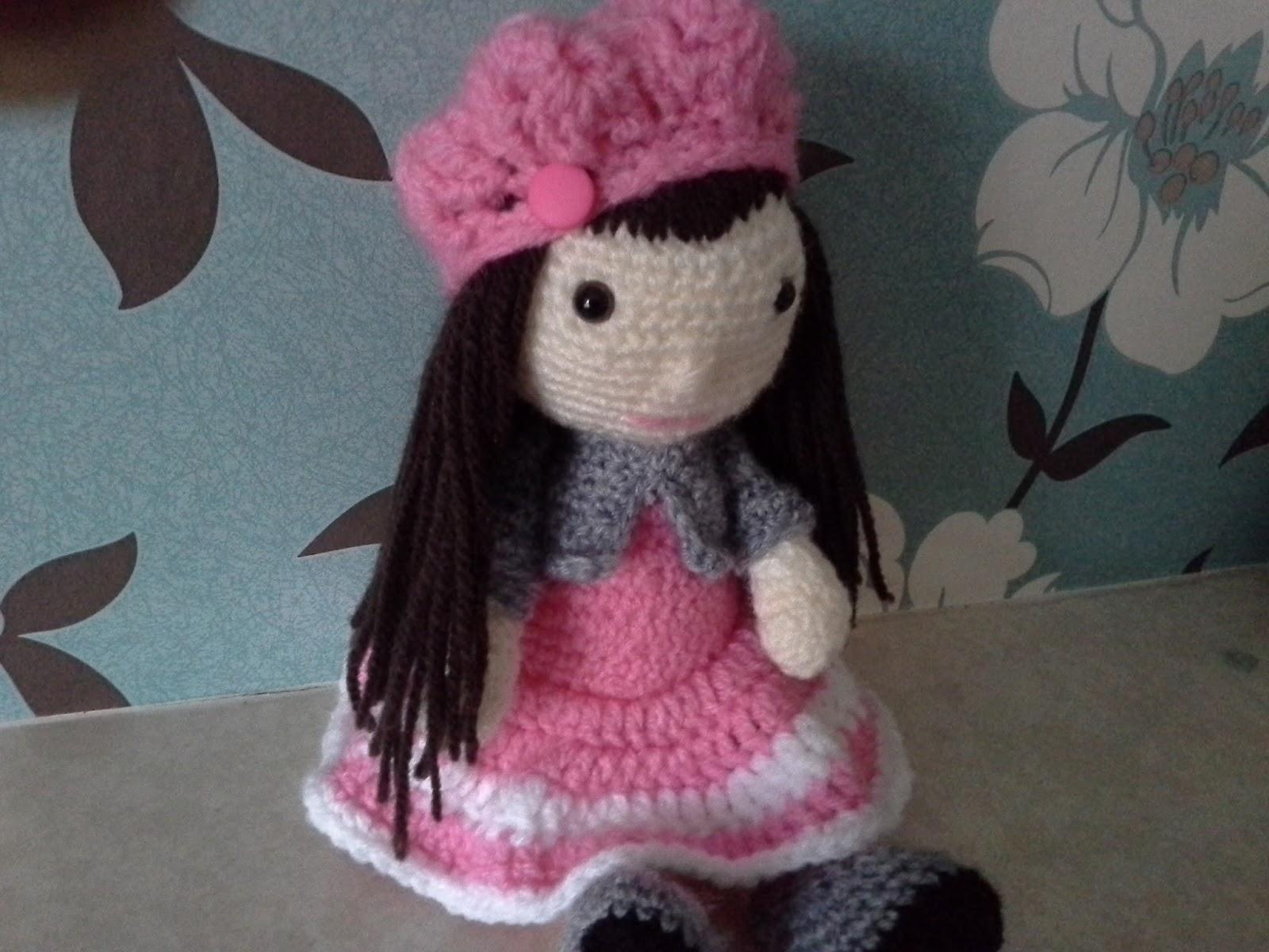 Amigurumi Doll Nose : wendy`s crafting times: Crochet amigurumi girl doll