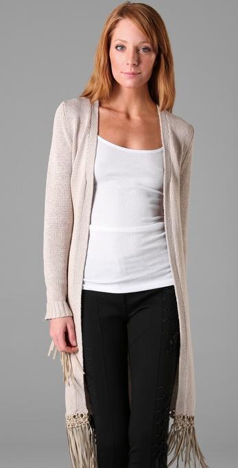 EMM (pronounced EdoubleM): HAUTE HIPPIE Long Cardigan Sweater